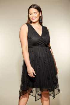 https://www.yoursclothing.co.uk/black-mesh-floral-embroidered-hanky-hem-dress-p