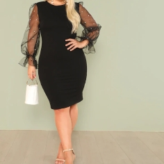 https://www.shein.co.uk/Plus-Pearl-Beading-Mesh-Sleeve-Pencil-Dress-p-460352-cat-1889.html